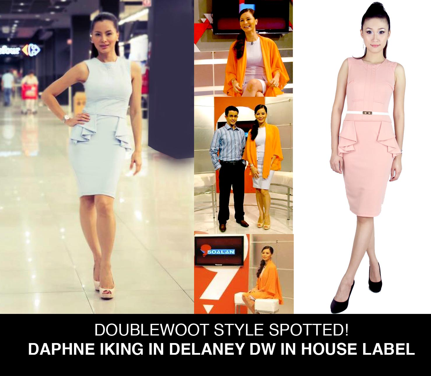 Daphne Iking in Doublewoot Label