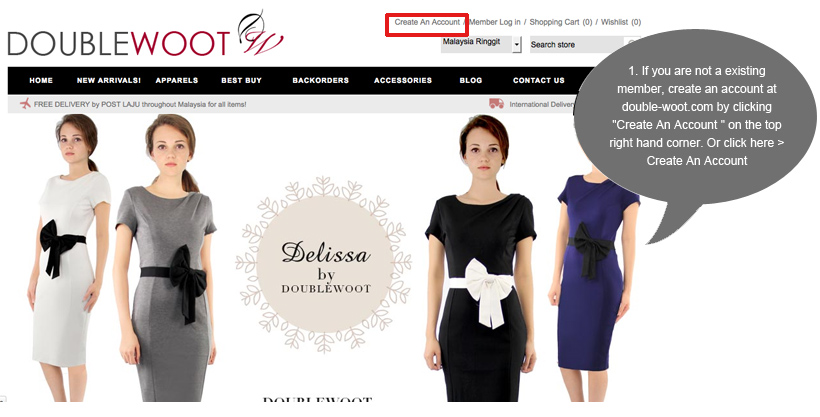 0f519f6e6 Doublewoot Online Fashion Store | Malaysia Leading Online Fashion ...