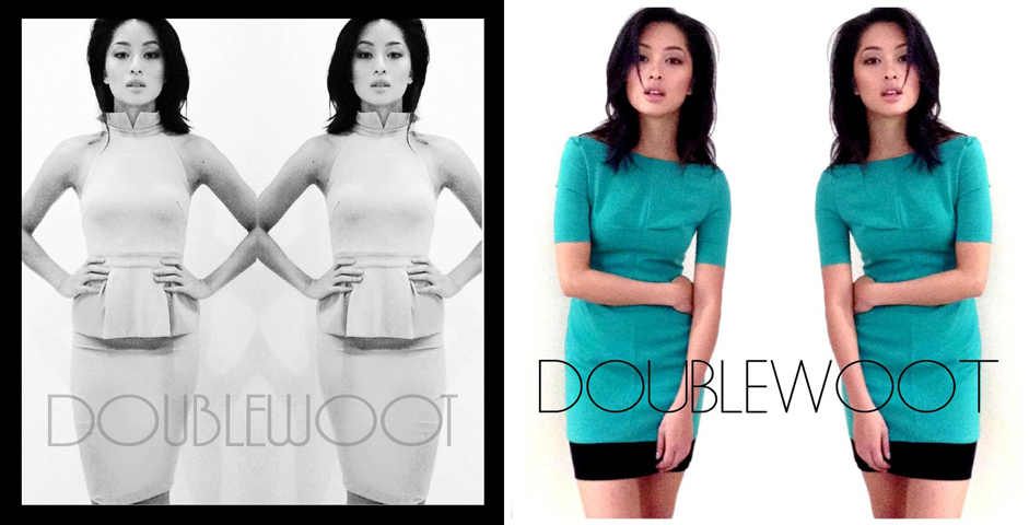 sarah lian in doublewoot dress