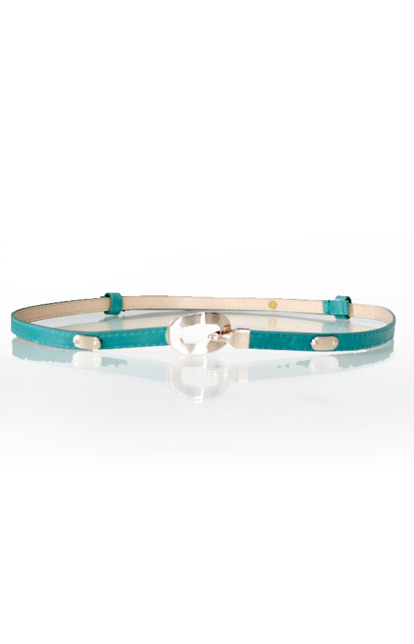 Picture of Bernie Buckle Belt (Turquoise)