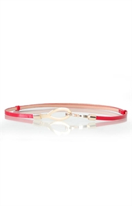 Picture of Michelle Buckle Belt (Red)