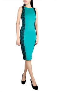 Picture of Shonda Lace Dress (Green)