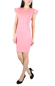Picture of Mourve Structured Modedress (Pink)