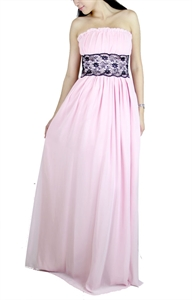 Picture of Leoneigh Lace Dress (Light Pink