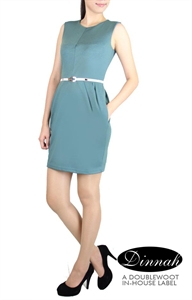 Picture of Dinnah Sheathdress (Light Green)