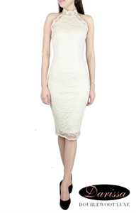 Picture of Darissa Lace Dress by Doublewoot (Cream)
