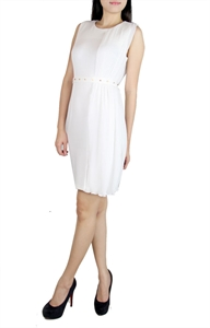 Picture of Ancene Drapedress (White)