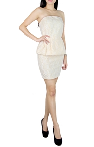 Picture of Emylyne Peplum (Beige)
