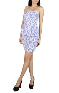 Picture of Emylyne Peplum (Blue)