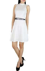 Picture of Ercia Belted Skater (White)