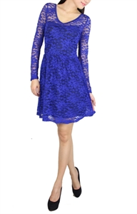 Picture of Relande Lace Skater (Blue)