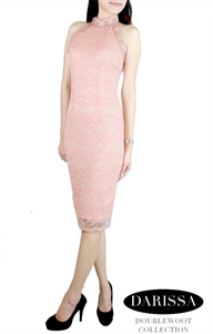 Picture of NEW Darissa Lace Dress by Doublewoot (Pink)