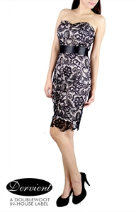 Picture of NEW Dervient Lace Dress (Black)