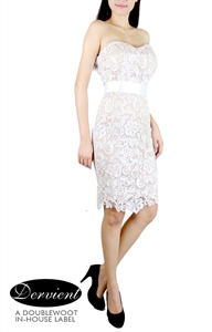 Picture of NEW Dervient Lace Dress (Cream)