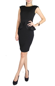 Picture of Poreje Peplum (Black)