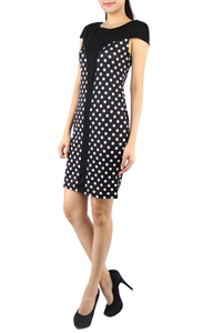 Picture of Onna Polka dress (Black)
