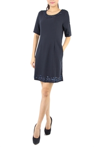 Picture of Belinda Dress (Navy)