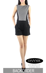 Picture of Dannie Romper by Doublewoot (Grey)