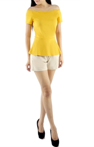 Picture of Renigh Top (Mustard)