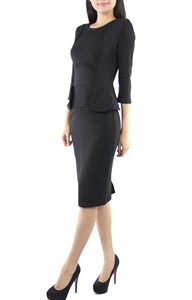 Picture of Mariana Peplum (Black)