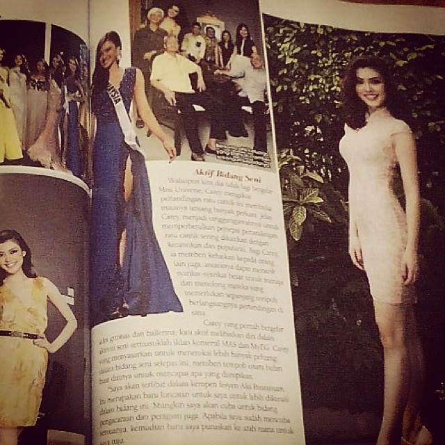 Wanita Magazine feature on Carey Ng