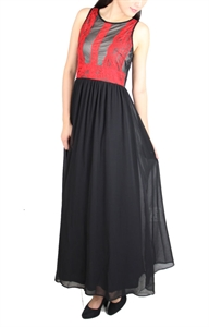 Picture of Aejorn Lace Maxi (Black)