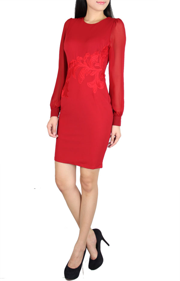 Picture of Bellique Dress (Red)